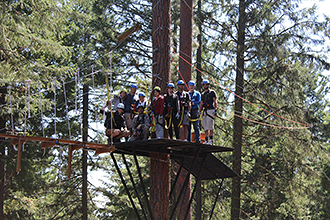 New Zip Line Brings New Life To Shuttered Oregon Ski Hill