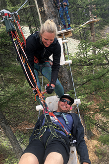 Even rescue training, like they do at Snow King Mountain, Wyo., can be a fun activity to solidify a team and help avoid burnout.