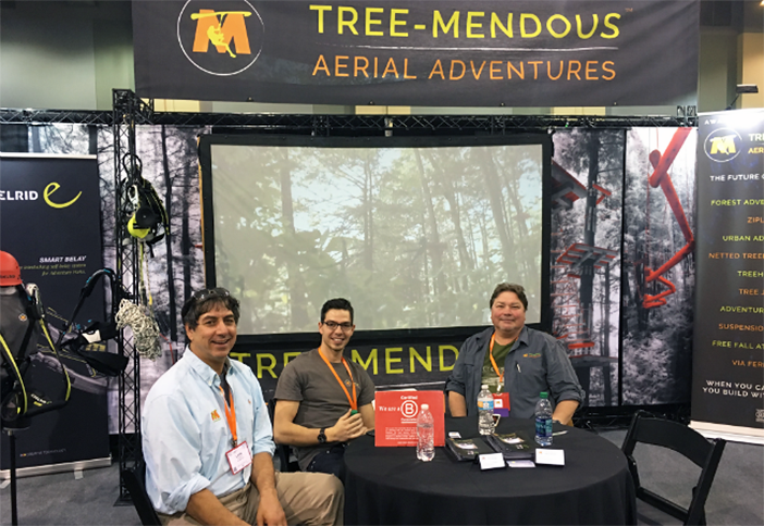 The team at Tree-Mendous enjoys a nice sit down.