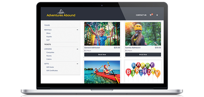 flybook online booking interface