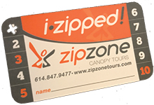 frequent zipper card